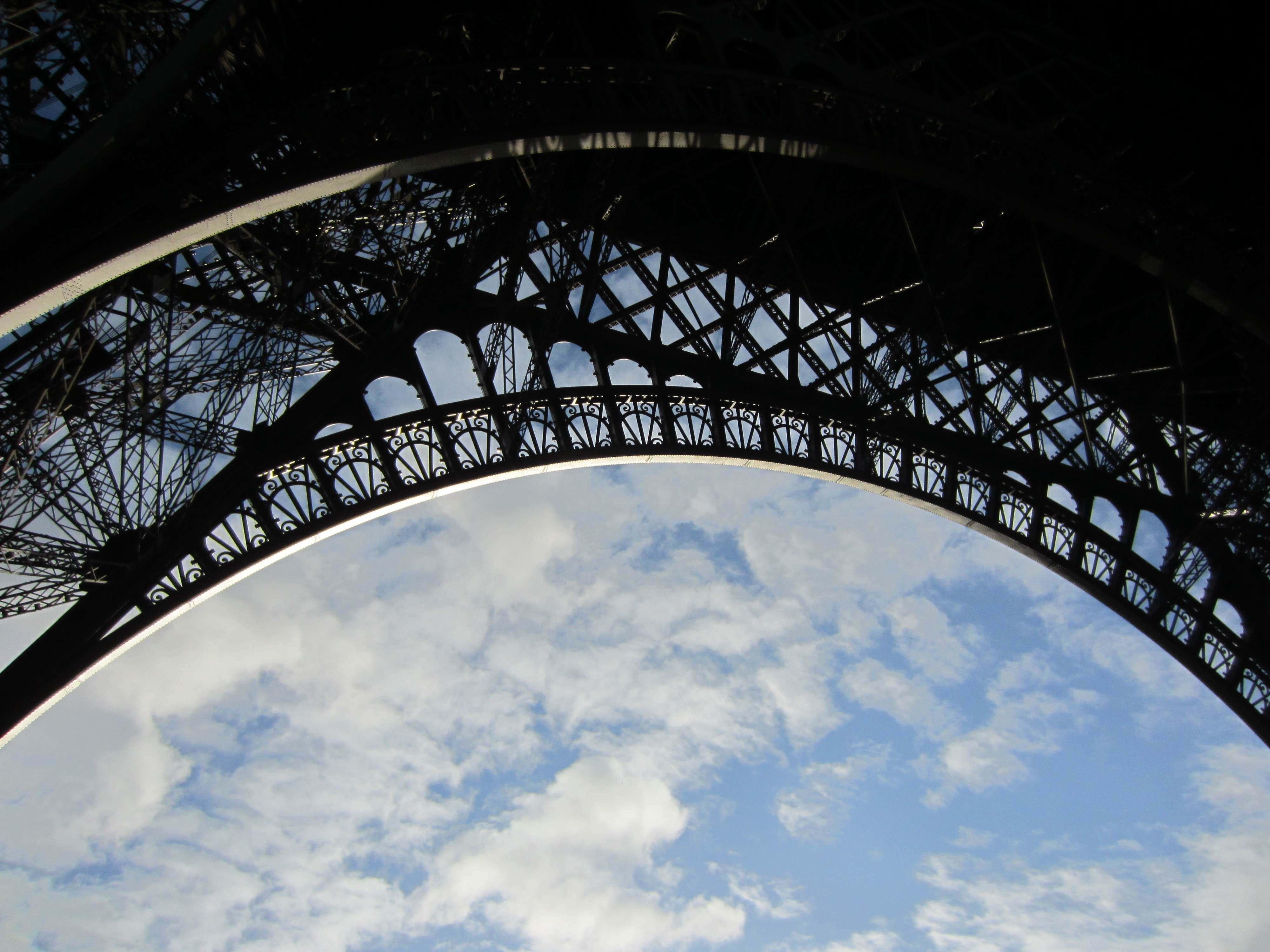 Eiffel Tower Arch Detail