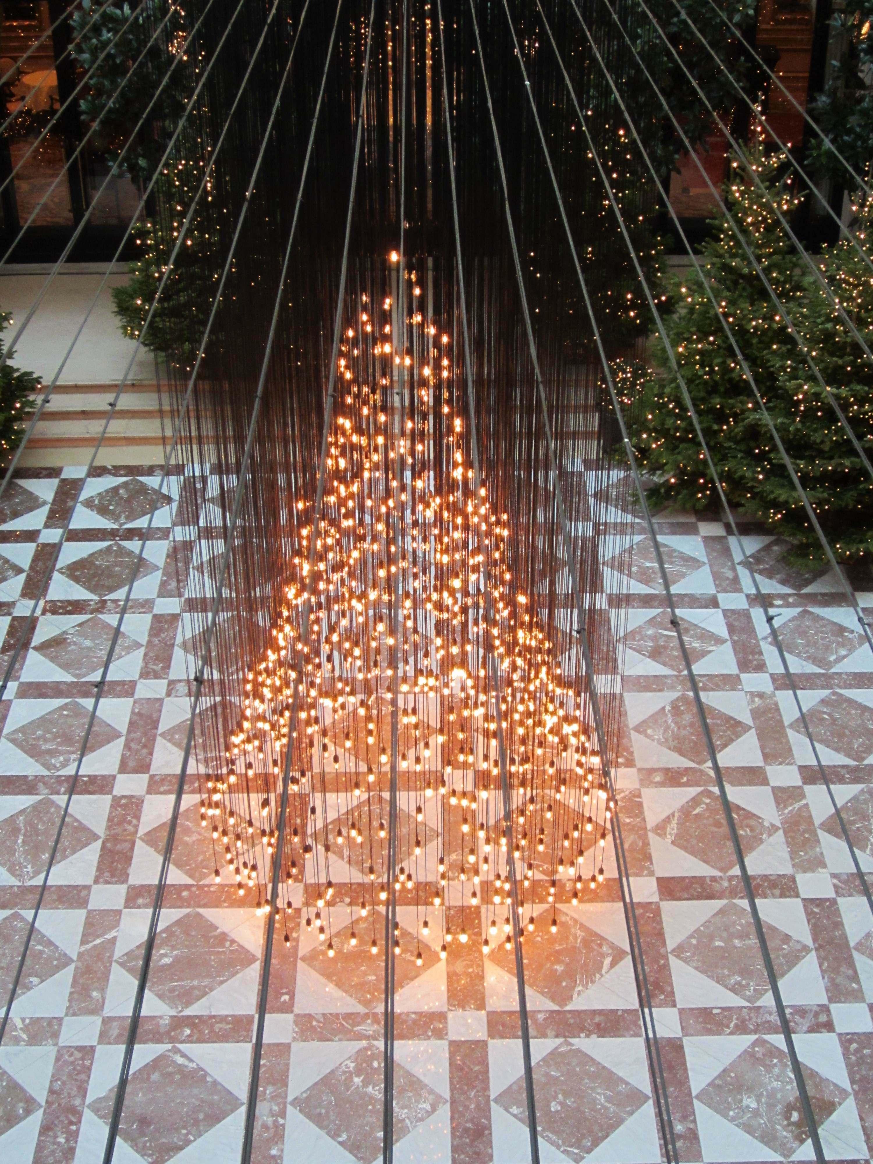 Modern Christmas Light Display